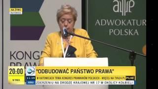 Brawo dla Pani Prezes! Polska jest broniona! Nikt nam Polski nie zniszczy