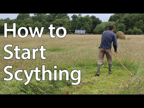 How To Start Scything