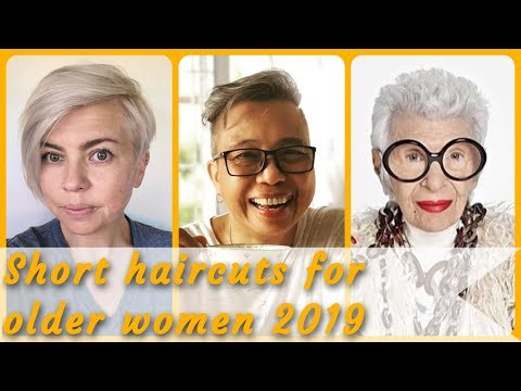 20 Top  Beauty short haircuts for older women 2019