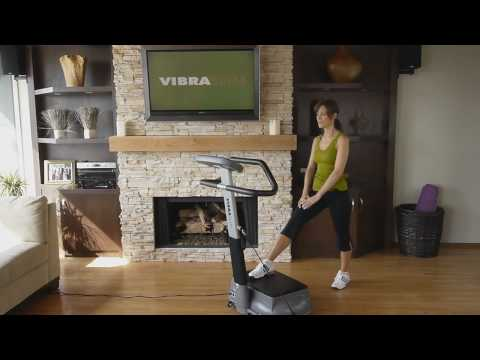 Vibration Exercise Fitness Machine – How to do 10 minute vibrating workout – Vibraslim