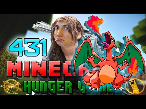 Minecraft: Hunger Games w/Mitch! Game 431 – Charizard Ace!