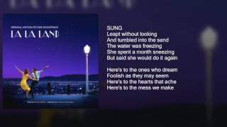 Download Lagu La La Land - Audition (Fools Who Dream) - Lyrics Mp3