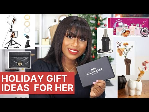 Top 10 Christmas Gift Ideas For Her Under £100 | LUXURY *GIVEAWAY* видео