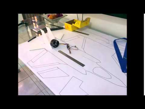 Como fazer um aeromodelo Raptor...
