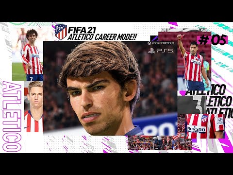 PLAYING ON PS5!! FIFA 21 | Atletico Madrid Career Mode Ep5