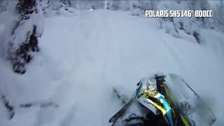 "4. Polaris SKS 146"" first test in backcountry"