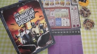 [BoardGame] The Manhattan Project: Tutorial y review personal