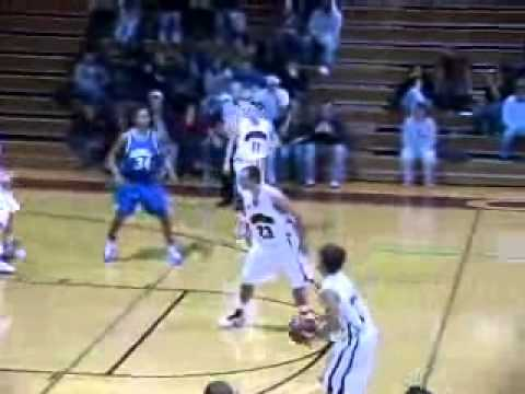 Guilford Men's Basketball vs. Washington and Lee 2/9/11 Highlights
