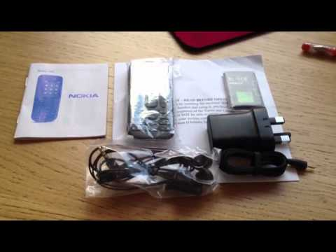 Nokia 100 unboxing