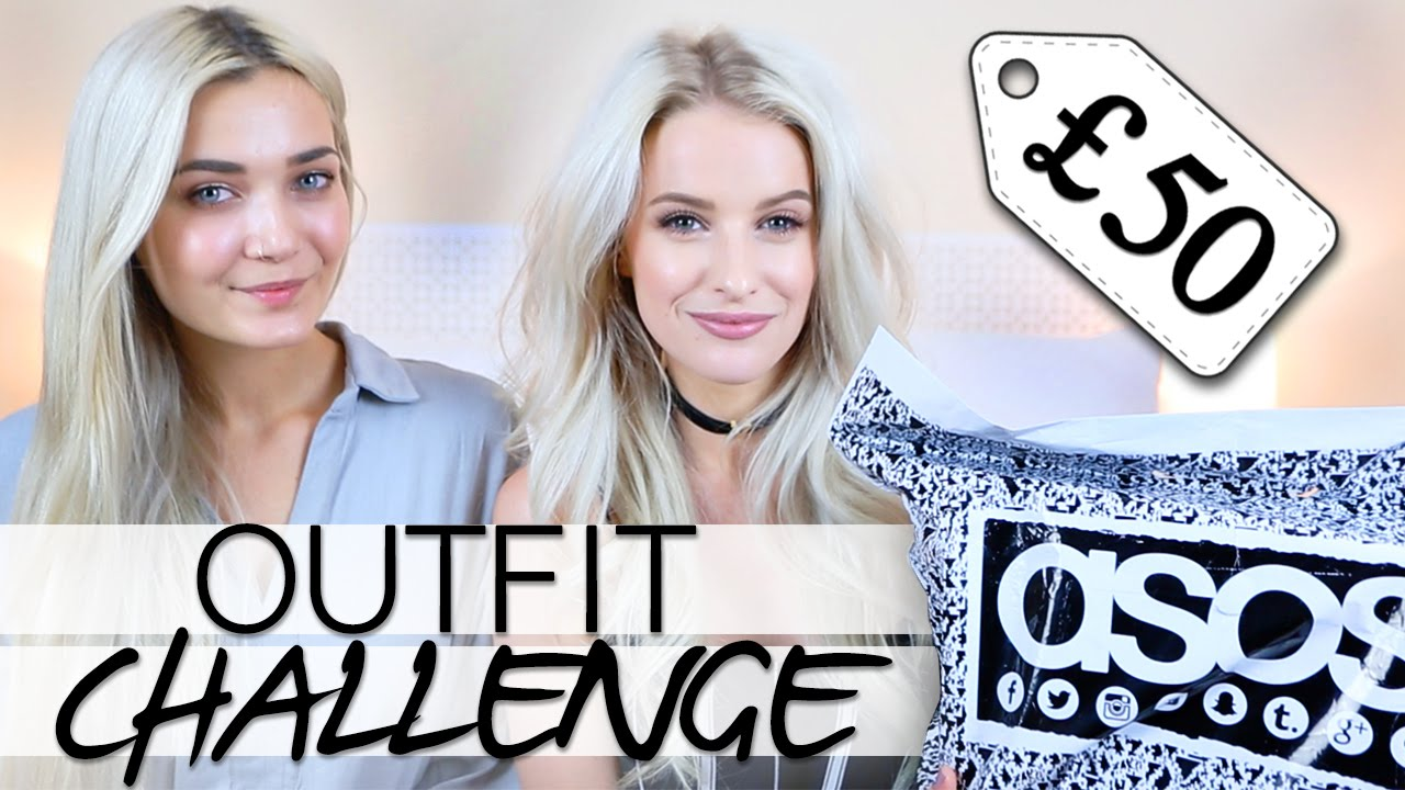 £50 OUTFIT CHALLENGE WITH ROXXSAURUS