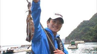 漁港でファミリーフィッシング ウキ釣りでアオリイカを狙う!/四季の釣り/2016年10月14日OA