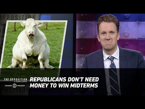 Republicans Don't Need Money to Win Midterms - The Opposition w/ Jordan Klepper (видео)