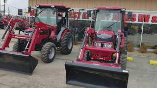 9. The differences in the Mahindra 2538 and 1538 HST cab tractors