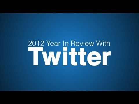 Het jaaroverzicht 2012 in tweets