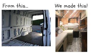 Video Make a Van a Home! MP3, 3GP, MP4, WEBM, AVI, FLV Maret 2019
