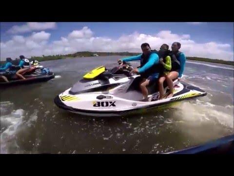 Passeio do Alagoas Jet Clube nos Morros do Camaragibe, em Alagoas (HD)