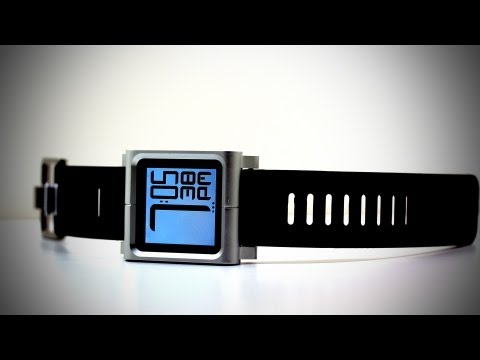 nano watch band - Buy the LunaTik here - http://amzn.to/KKqF9r This is an unboxing and review of the LunaTik iPod Nano watch strap. This will work with any iPod Nano 6G (6th g...