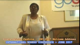 EVANG BIBI FASHINA WELCOME ADDRESSEXCITING CLIP FROM IWC JUNE 2017-INTERNATIONAL WOMENS CONFERENCE -ATLANTA 2017Watch out for the upload of her full delivery on myfaithtvnetwork YouTube channel!#IWCJUNE2017#INTERNATIONALWOMENSCONFERENCES2017#MYFAITHTVNETWORK#GOGLOBALCONFERENCES