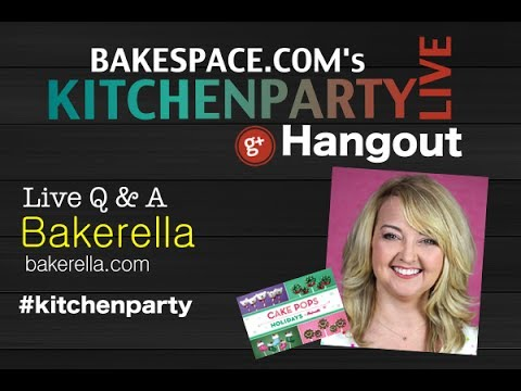 Holiday Baking Chat w/ Bakerella: KitchenParty Live
