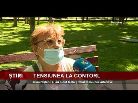 """Bucureștenii și-au putut testa gratuit tensiunea arterială, la inițiativa Școlii """"Atlas"""""""