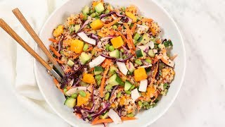 3 Healthy Quinoa Salad Recipes by The Domestic Geek