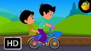 Rendu Chakaravandi - Cycle - Children Tamil Nursery Rhymes Chellame Chellam Volume  6