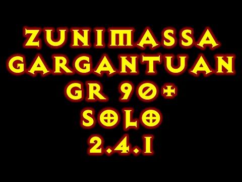 Diablo 3 WD Zunimassa Gargantuan GR90+ Patch 2.4.1