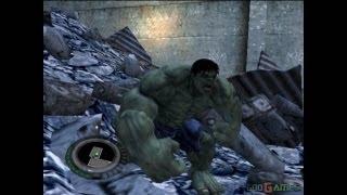 Video The Incredible Hulk - Gameplay PS2 (PS2 Games on PS3) MP3, 3GP, MP4, WEBM, AVI, FLV September 2018