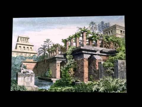 7 ЧУДЕС СВЕТА. Висячие сады Семирамиды
