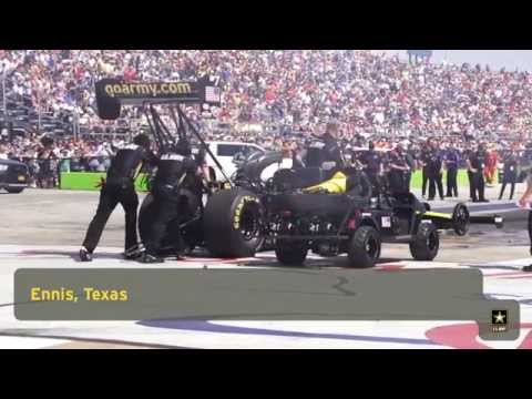 U.S. Army Promotes STEM Education at NHRA