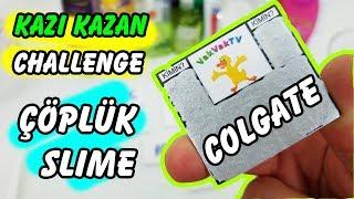Kazı Kazan Slime Challenge - Eğlenceli Çöplük Slaym Challenge - Sayını Seç Challenge!