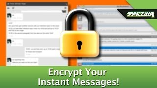 Encrypt Your Instant Messages and Keep Chat Private