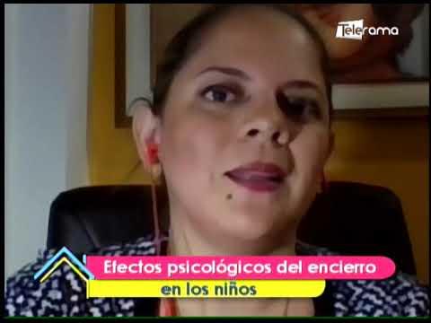 Efectos psicológicos del encierro en los niños