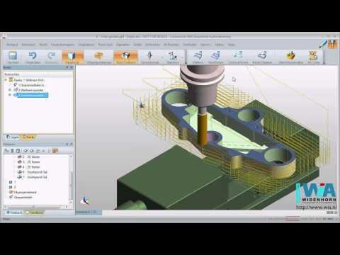 Edgecam Eenvoudige Instructievideo Nederlandstalige CADCAM voor CNC frezen (видео)