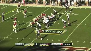 Brandon Jenkins vs Maryland (2011)