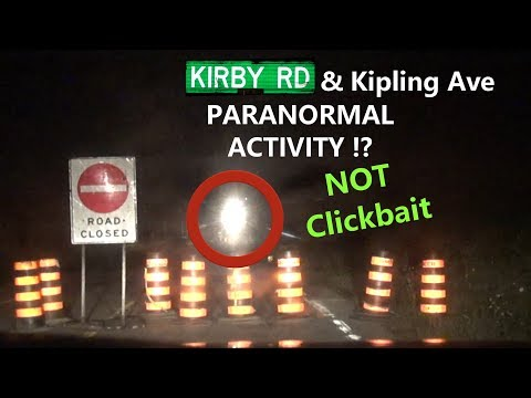 REAL Paranormal Activity on Kirby Road at 12 AM | Friday August 10 (MUST See, Please Help Explain)