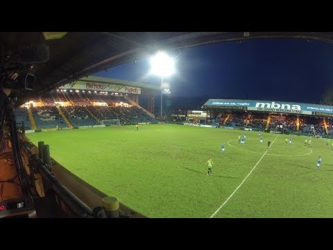 Time-lapse Of Edgeley Park On Match Day (видео)