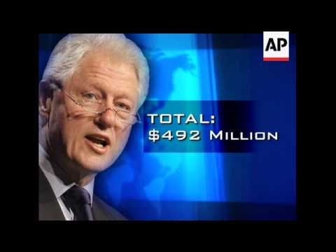 Former President Bill Clinton's foundation has raised at least $41 million from Saudi Arabia and oth