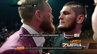 Video Suasana Panas Kedua Pemain MMA Khabib dan Mc Gregor Sebelum dan Seusai Pertandingan MP3, 3GP, MP4, WEBM, AVI, FLV Oktober 2018