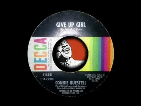 CONNIE QUESTELL - GIVE UP GIRL (видео)