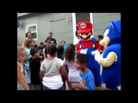 Super Mario Party Character Los Angeles | Mario theme birthday Party | Call 310-770-2580