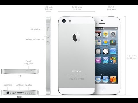 OFFICIAL Apple iPhone 5 Unboxing, Setup, & Review