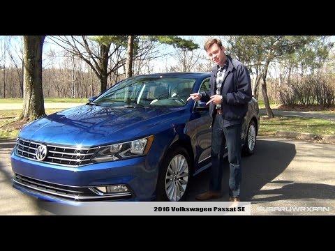 Review: 2016 Volkswagen Passat SE w/ Technology