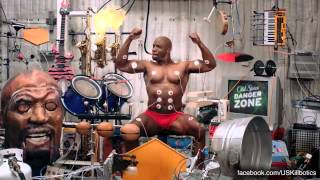 Terry Crews vs. U.S. Killbotics - Old Spice Muscle Music