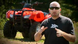 10. 2011 Honda Rancher 420 AT Test Ride