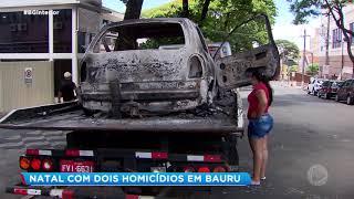 Natal com dois homicídios em Bauru
