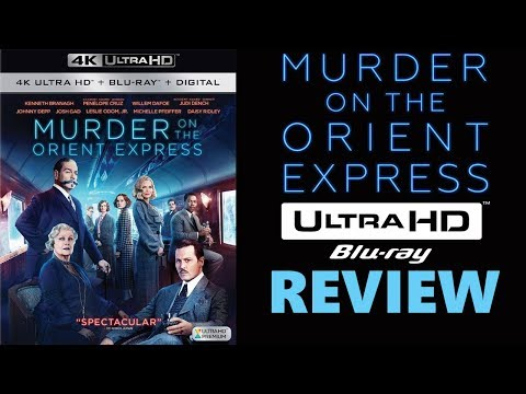 Murder On The Orient Express 4K Bluray Review | Dolby Atmos