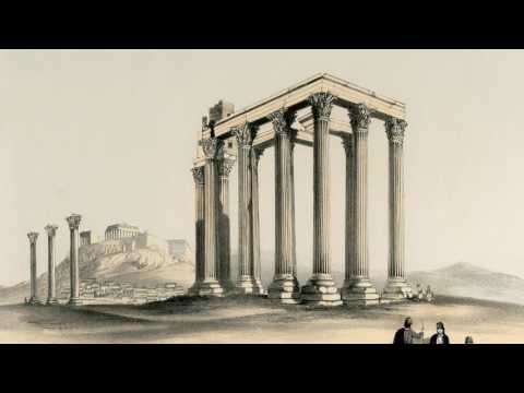 """The Temple of Jupiter Olympus"" (H. Cook 1853)"