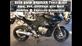 1. 1st 2019 BMW S1000XR Triple Black Prem. Pkg. Overview with Nate Jennings @ Frontline Eurosports