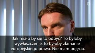 Propagandowy materiał niemieckiej TV z polskimi dziennikarzami